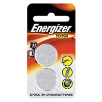 ENERGISER CR2025 BATTERY TWIN PACK