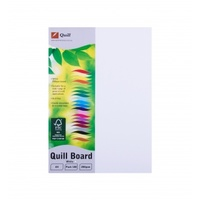 QUILL XL CARDBOARD 200G A4 WHITE PACK 100