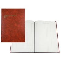 COLLINS 3880 SERIES ACCOUNT BOOK A4 JOURNAL 84 LEAF