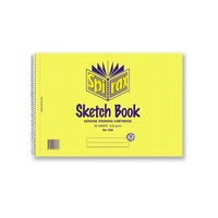 SPIRAX 534 SKETCH BOOK A4 212x297mm 40 PAGES PACK 10