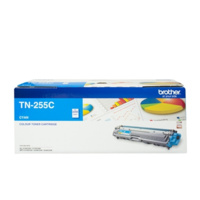 BROTHER TN-255 LASER TONER CARTRIDGE CYAN HY 2.2K