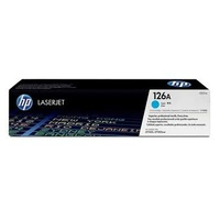 HP CE311A NO. 126A TONER CARTRIDGE CYAN