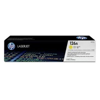 HP CE312A NO. 126A TONER CARTRIDGE YELLOW