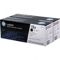 HP Q2612AD TONER CARTRIDGE BLACK TWIN PACK