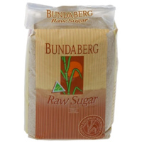 BUNDABERG RAW SUGAR BAG 1KG