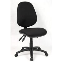 SUPREME FULLY ERGONOMIC OFFICE CHAIR BLACK