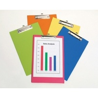 BEAUTONE FC PVC CLIP BOARD ASSORTED