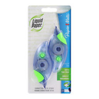 LIQUID PAPER DRYLINE GRIP CORRECTION TAPE TWIN PACK