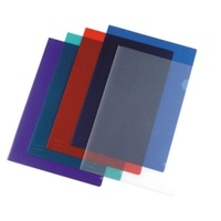 BEAUTONE 44002 ULTRA CLEAR LETTER FILES A4 BLUE PACK 10