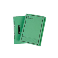 AVERY SPRING TRANSFER FILE FS GREEN PRINTED BLACK BOX 50