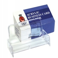 SOVEREIGN  BUSINESS CARD HOLDER ACRYLIC CLEAR