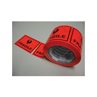 STYLUS 4025 FRAGILE WARNING LABEL 75mmx50m ROLL 500