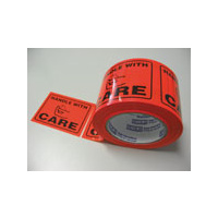 STYLUS 4029 HANDLE WITH CARE WARNING LABEL  75mmx50m ROLL 500