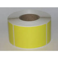 THERMAL DIRECT REMOVABLE LABEL 28x28xC40mm YELLOW WOUT ROLL 2K