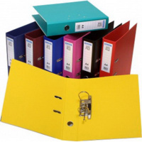 BANTEX 286 LEVER ARCH FILE A4 70mm PP  ASSORTED