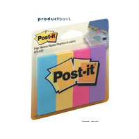 3M 671-4AU POST-IT PAPER PAGE MARKERS ULTRA LARGE 4 COLOURS