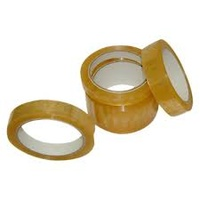 SPECIAL TAPE RUBBER GLUE 24mm x 75m TAPE CLEAR