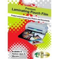 GOLD SOVEREIGN LAMINATING POUCHES A4 GLOSS 125um PACK 100