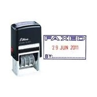 SHINY SELF INKING DATER S403 FAXED  2 COLOUR