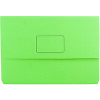 MARBIG 4004004 SLIMPICK DOCUMENT WALLET FOOLSCAP GREEN EACH