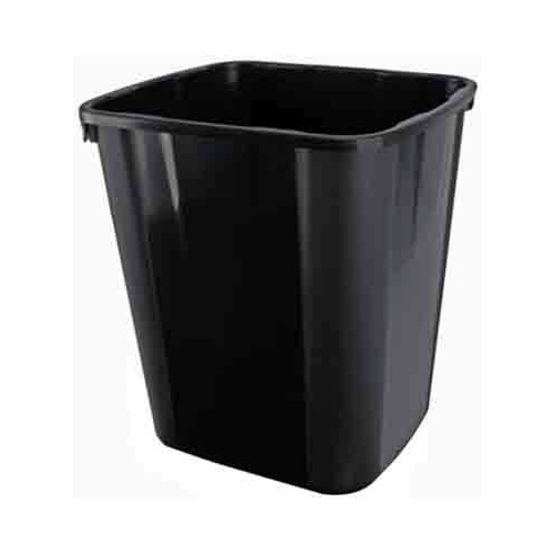 ITALPLAST I180BLK WASTE BIN 32 LITRE BLACK ( WITH OUT LID )
